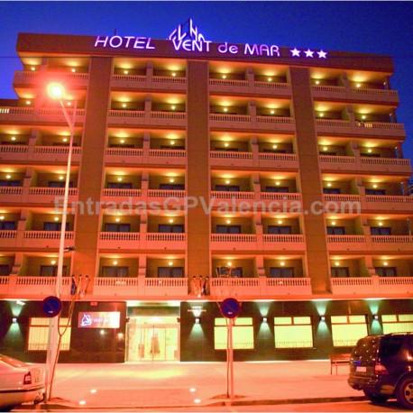 MotoGP Valencia Hotel Vent del MAr 3* 2noches A.D.