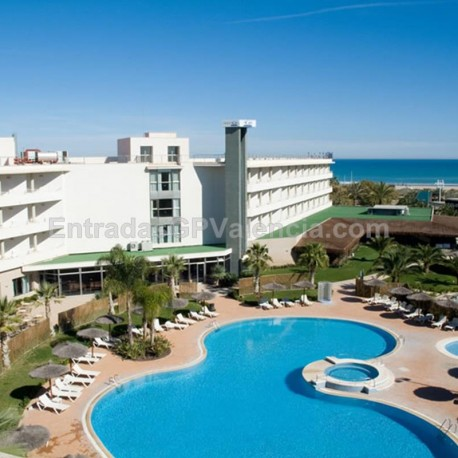MotoGP Valencia Hotel agh cANET 4* 2noches A.D.