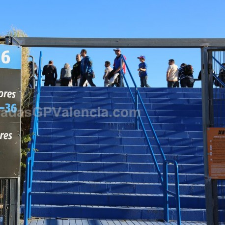 Tribuna Azul Circuito Cheste