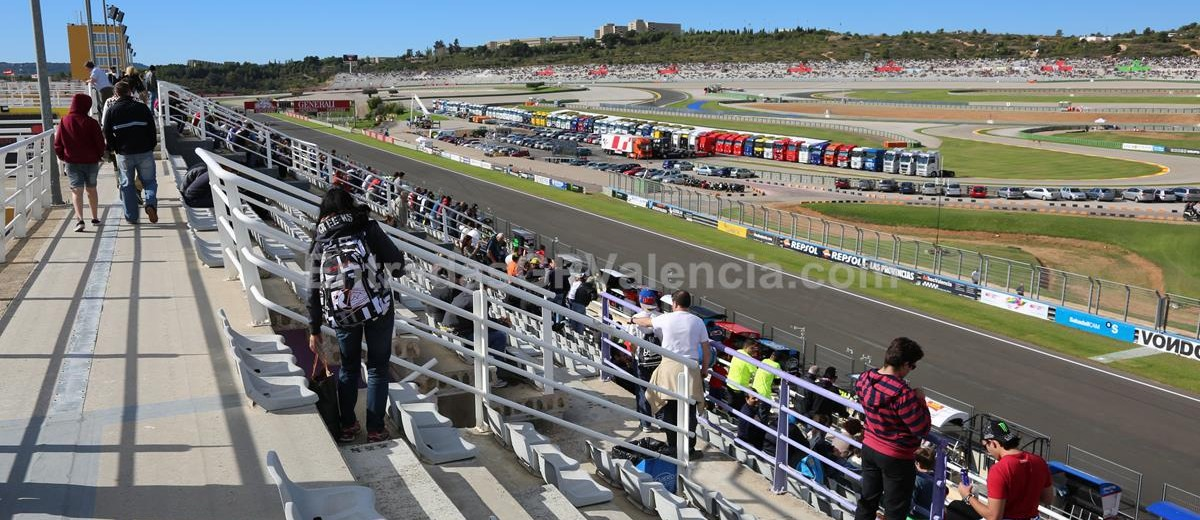 Tribuna de Boxes