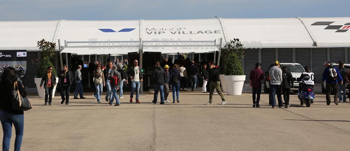 Vip Village Moto GP Valencia